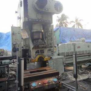 power press 45ton komatsu