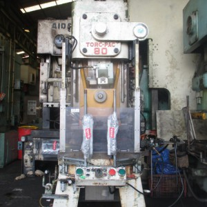 Power Press Amada 80 Ton