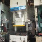 Power Press Komatsu 200 Ton WPP-1688